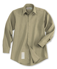 Khaki Armorex FR® Arc Rated Flame Resistant Food Service Work Shirts Shown in UniFirst Uniform Rental Service Catalog