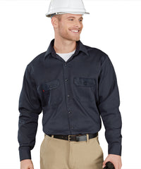 Armorex FR® Arc Rated Flame Resistant Work Shirts (Navy) Shown in UniFirst Uniform Rental Service Catalog
