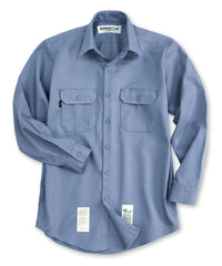 Light Blue Armorex FR® Arc Rated Flame Resistant Work Shirts Shown in UniFirst Uniform Rental Service Catalog