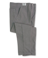 Black & White     Classic Fit Chef Pants Shown in UniFirst Uniform Rental Service Catalog