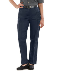 Blue Women's Cargo Pants (Navy) Shown in UniFirst Uniform Rental Service Catalog