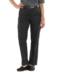 Blue Women's Cargo Pants (Black) Shown in UniFirst Uniform Rental Service Catalog