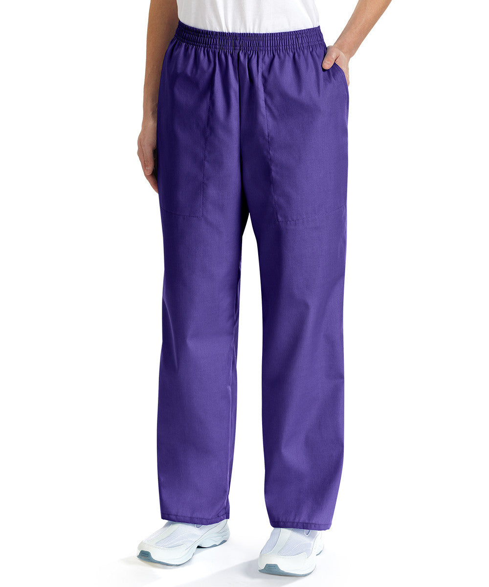 Iris Women's Scrub Pants Shown in UniFirst Uniform Rental Service Catalog