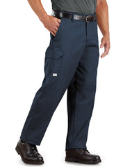 SofTwill® Cargo Pants (Navy Blue) Shown in UniFirst Uniform Rental Service Catalog