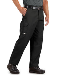 SofTwill® Cargo Pants (Black) Shown in UniFirst Uniform Rental Service Catalog