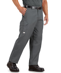 SofTwill® Cargo Pants (Charcoal) Shown in UniFirst Uniform Rental Service Catalog