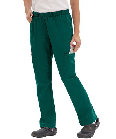 Women's Straight Leg Cargo Scrub Pants