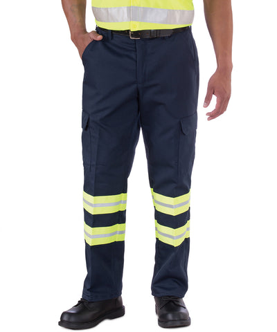 Enhanced Visibility Cargo Pants Shown in UniFirst Rental Catalog