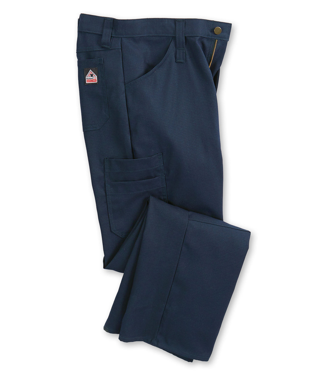 Bulwark® FR iQ Series® Lightweight Pants (Navy) Shown in UniFirst Uniform Rental Service Catalog