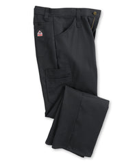 Bulwark® FR iQ Series® Lightweight Pants (Black) Shown in UniFirst Uniform Rental Service Catalog