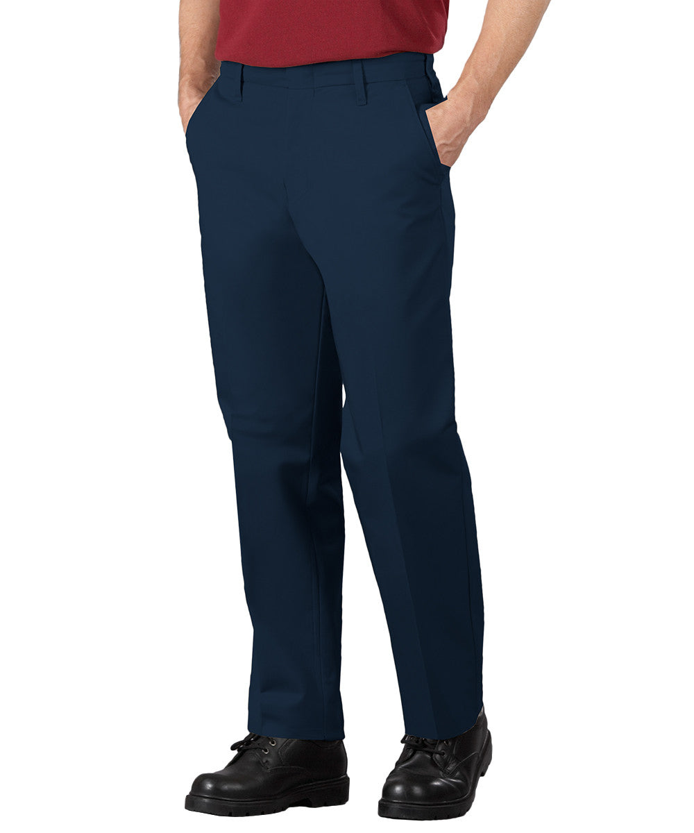 Navy Blue SofTwill® Service Pants Shown in UniFirst Uniform Rental Service Catalog