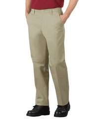 Khaki SofTwill® Service Pants Shown in UniFirst Uniform Rental Service Catalog