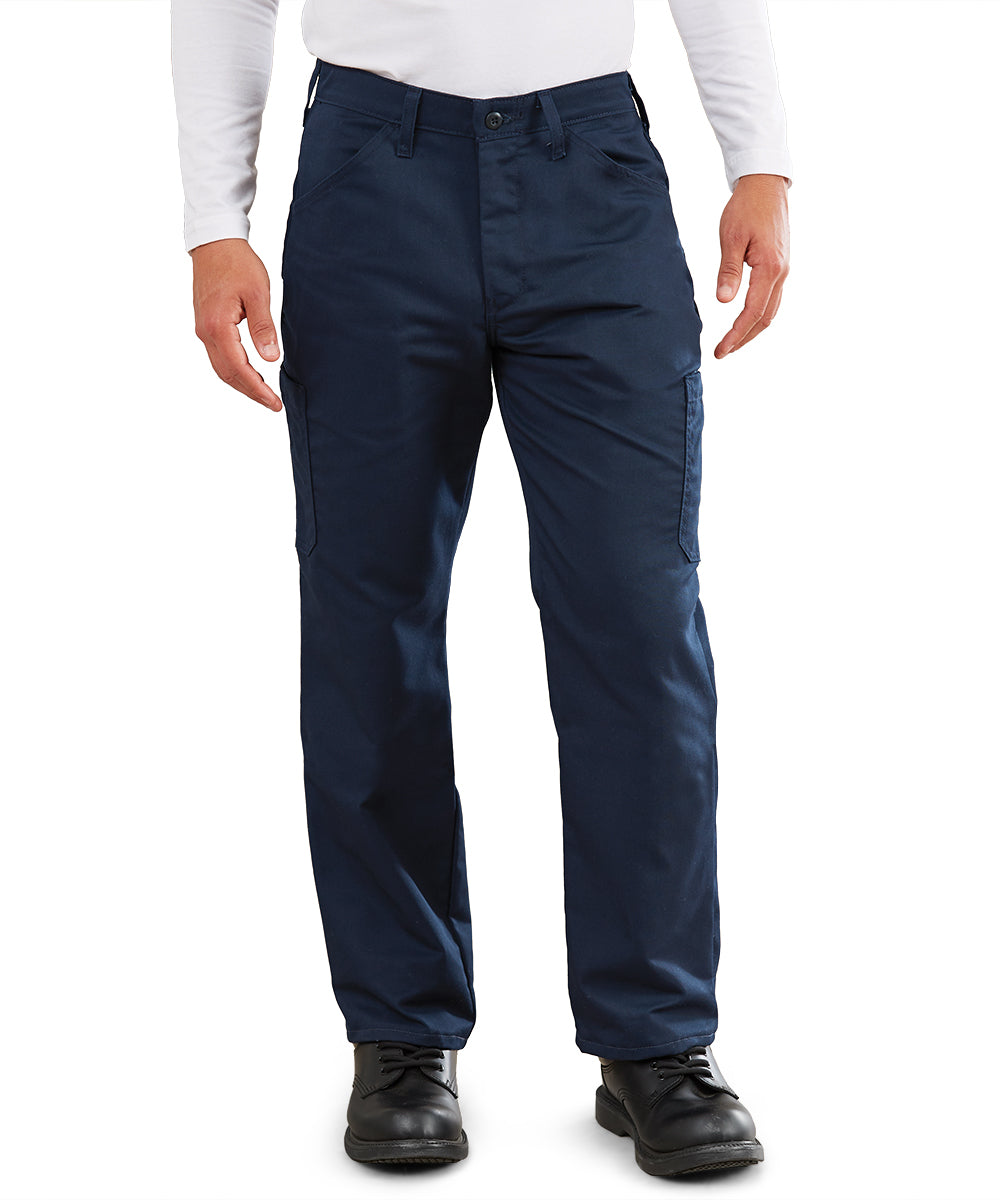 MIMIX™ Men's Cargo Pants (Navy) as shown in the UniFirst Uniform Rental Catalog