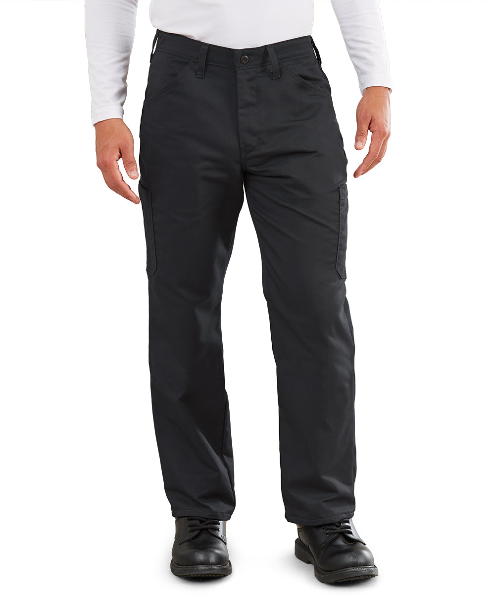MIMIX™ Men's Cargo Pants (Black) as shown in the UniFirst Uniform Rental Catalog