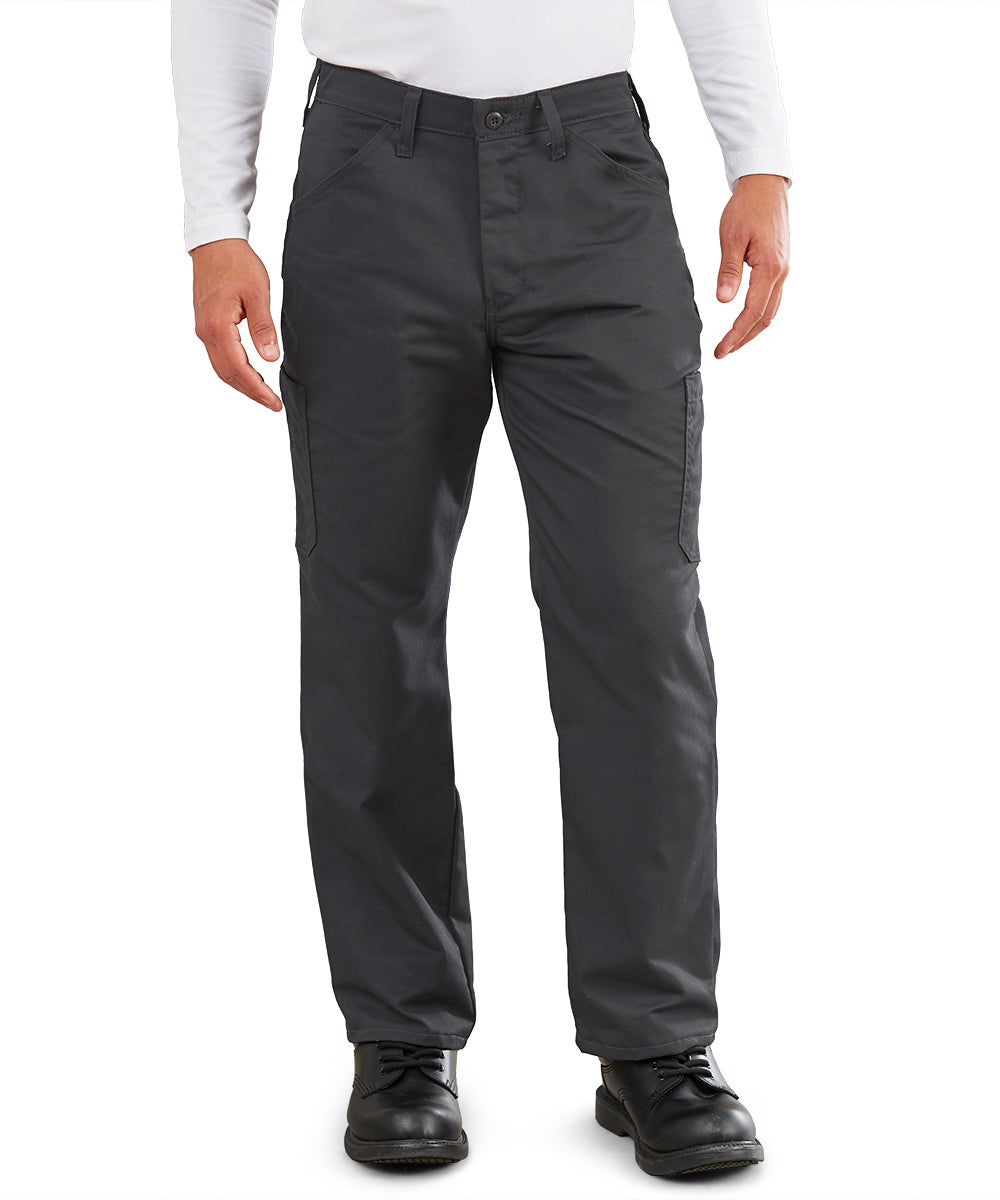 MIMIX™ Men's Cargo Pants (Charcoal) as shown in the UniFirst Uniform Rental Catalog