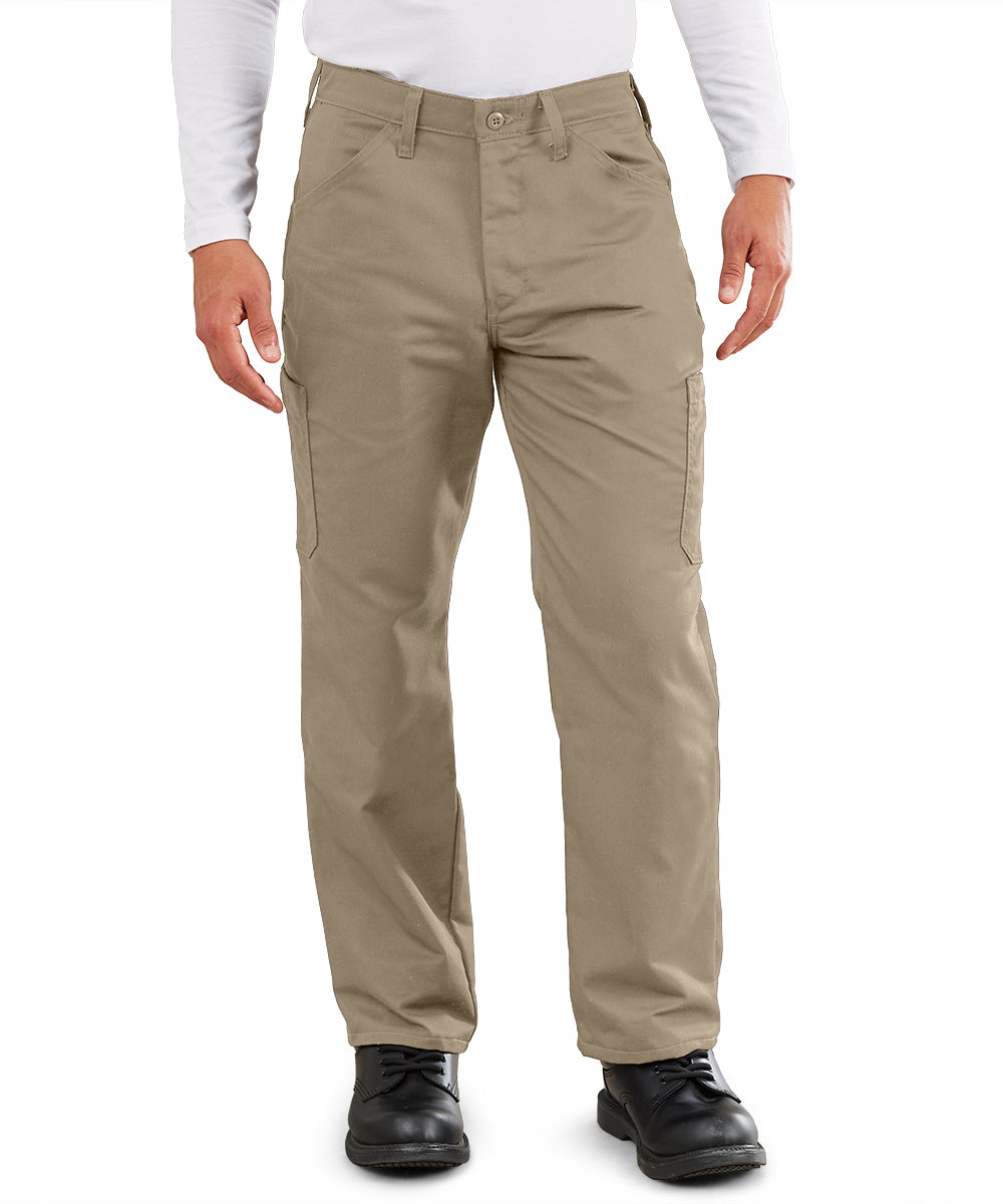 MIMIX™ Men's Cargo Pants (Khaki) as shown in the UniFirst Uniform Rental Catalog