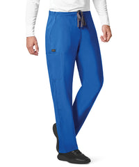 WonderWink INDY™ Unisex Utility Cargo Scrub Pants (Royal Blue) as shown in the UniFirst Uniform Rental Catalog.
