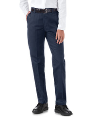 UniFirst® Women's Flexwaist Pants (Navy Blue) Shown in UniFirst Uniform Rental Service Catalog