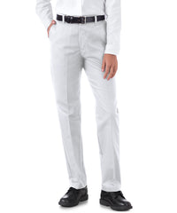 UniFirst® Women's Flexwaist Pants (White) Shown in UniFirst Uniform Rental Service Catalog