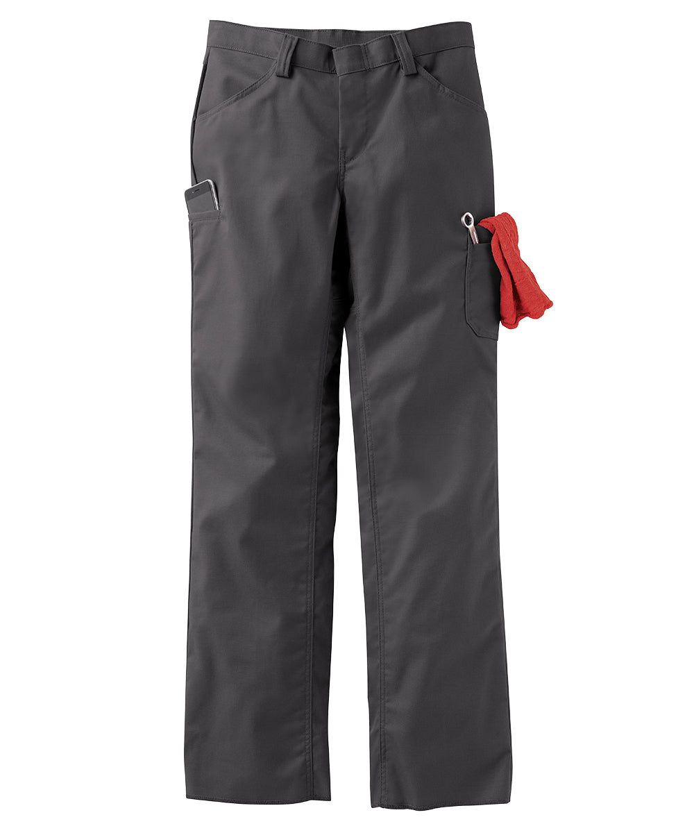 Women's ZeroSkratch™ Lightweight Crew Pants (Charcoal) as shown in the UniFirst Uniform Rental Catalog.
