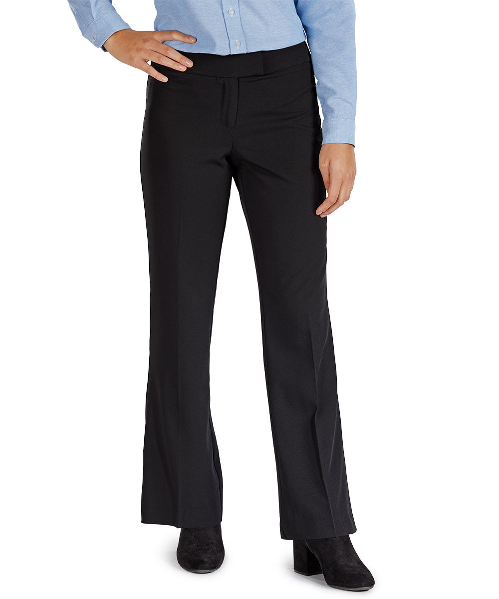 Women's Low Rise Boot Cut Pocketless Pants