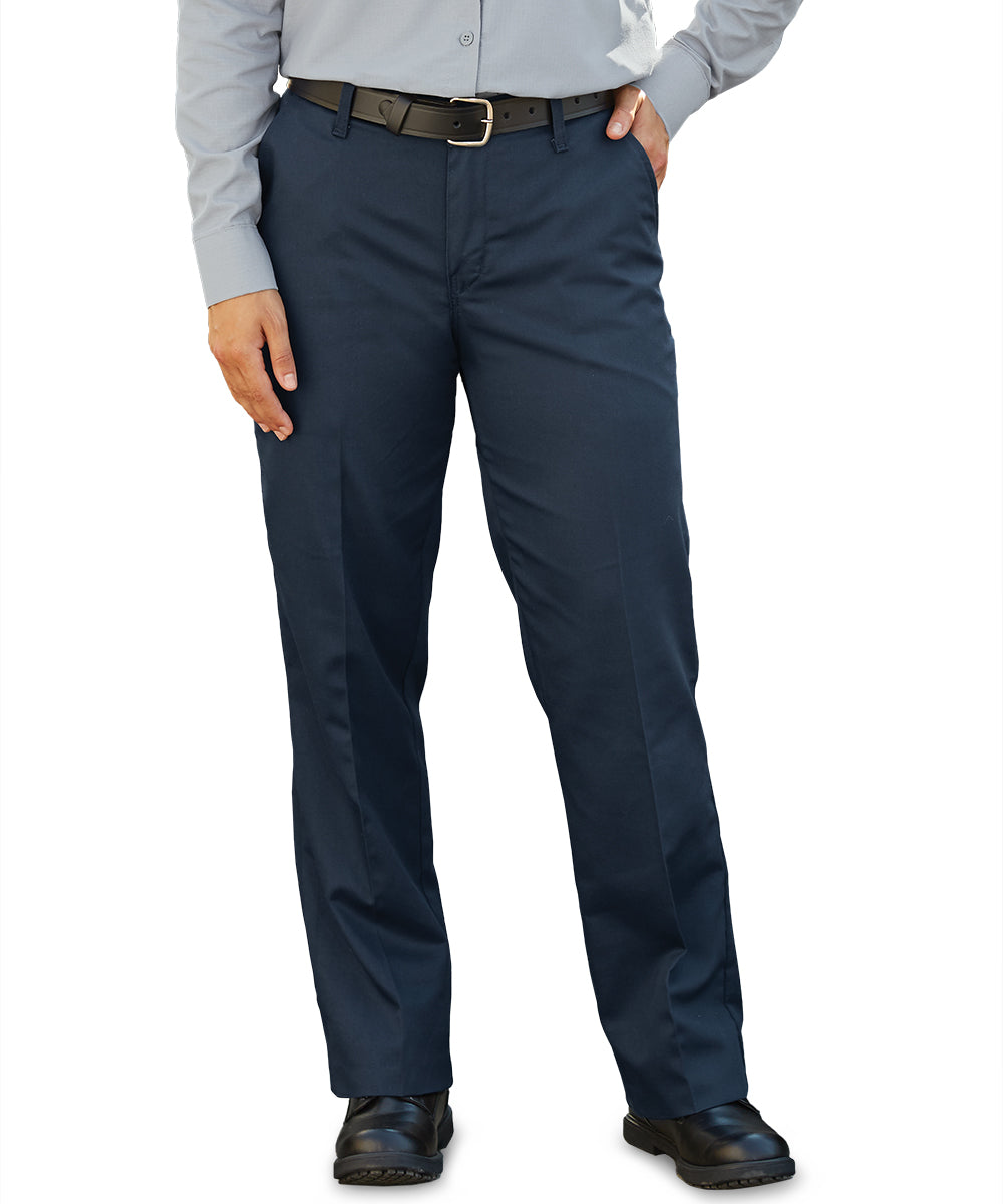 Women's MIMIX™ Utility Pants in Navy as shown in the UniFirst Uniform Rental Catalog