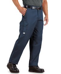 100% Cotton SofTwill® Cargo Pants (Navy) as shown in the UniFirst Rental Catalog.