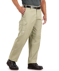 100% Cotton SofTwill® Cargo Pants (Khaki) as shown in the UniFirst Rental Catalog.