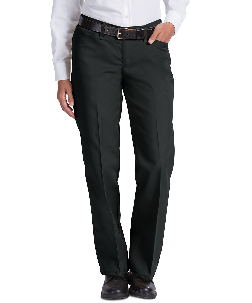 Black Work NMotion™ Women's Pants Shown in UniFirst Uniform Rental Service Catalog