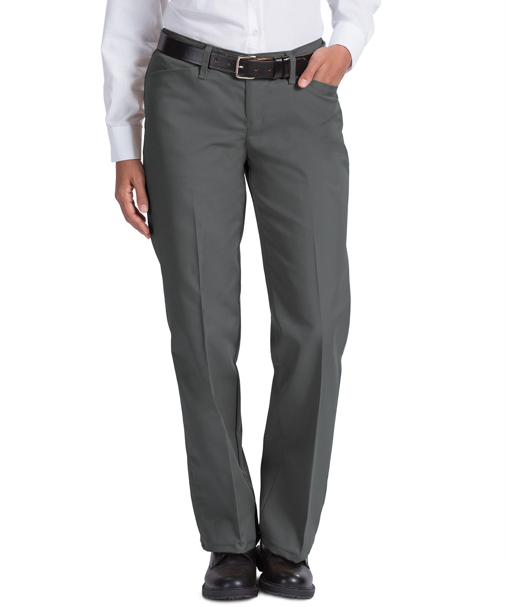 Charcoal Work NMotion™ Women's Pants Shown in UniFirst Uniform Rental Service Catalog