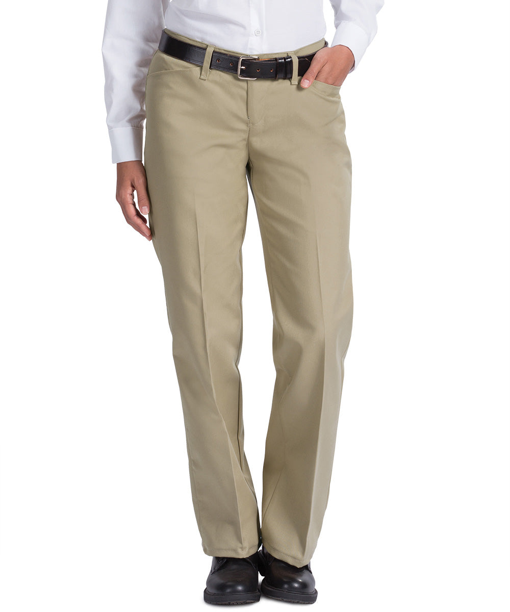 Khaki Work NMotion™ Women's Pants Shown in UniFirst Uniform Rental Service Catalog
