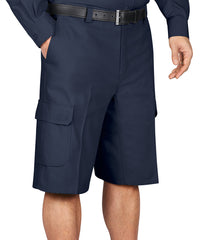 Navy Blue Dickies® Cargo Shorts Shown in UniFirst Uniform Rental Service Catalog