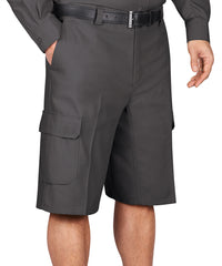 Charcoal Dickies® Cargo Shorts Shown in UniFirst Uniform Rental Service Catalog