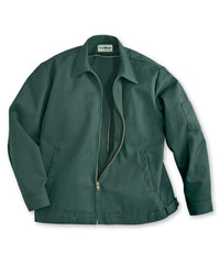 Spruce Green UniWear® Ike Jackets Shown in UniFirst Uniform Rental Service Catalog