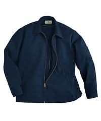 Navy Blue UniWear® Ike Jackets Shown in UniFirst Uniform Rental Service Catalog