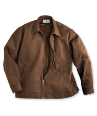 Brown UniWear® Ike Jackets Shown in UniFirst Uniform Rental Service Catalog