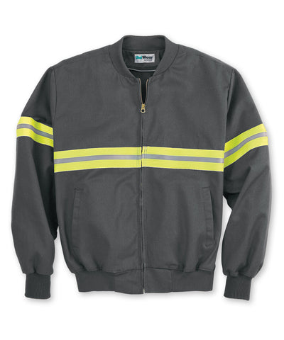 Spotlite LX® Enhanced Visibility Jackets with Yellow Reflective Striping