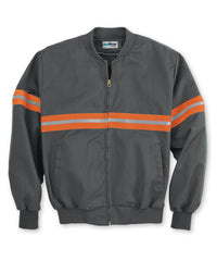 Charcoal Enhanced Visibility UniWear® Jackets Shown in UniFirst Uniform Rental Service Catalog