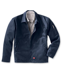 Performance Crew Jackets (Navy) as shown in the UniFirst Rental Catalog.