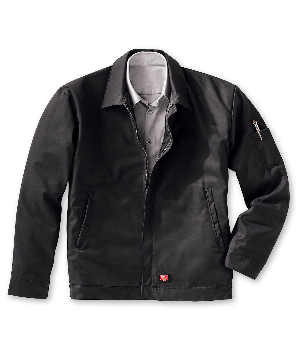 Performance Crew Jackets (Black) as shown in the UniFirst Rental Catalog.