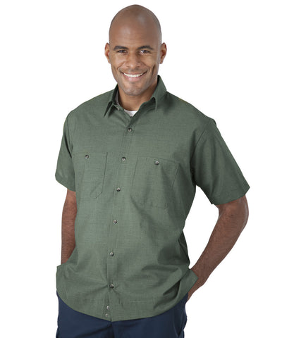 UniWeave® Short Sleeve MicroCheck Shirt Jacs