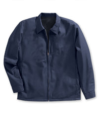 Navy Blue Dickies Work Jackets Shown in UniFirst Uniform Rental Service Catalog