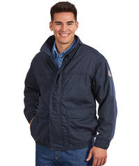 Bulwark® FR Flame Resistant Lined Bomber Jackets as seen in UniFirst Rental Catalog