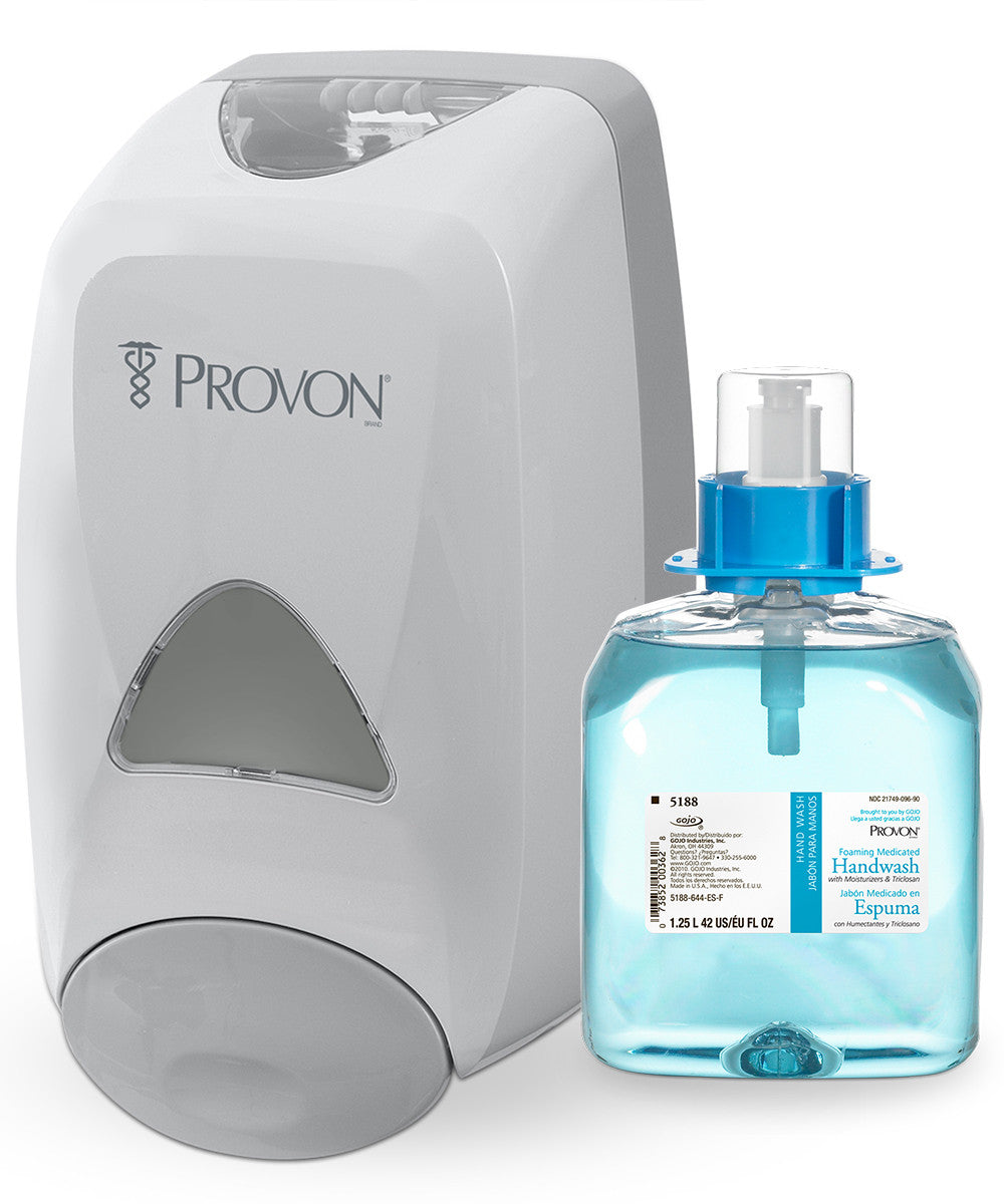 PROVON® Foaming Medicated Handwash with Moisturizers (1250 mL)