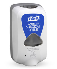 PURELL® TFX™ Touchless Surgical Scrub Dispensers as shown in the UniFirst Facility Services Catalog