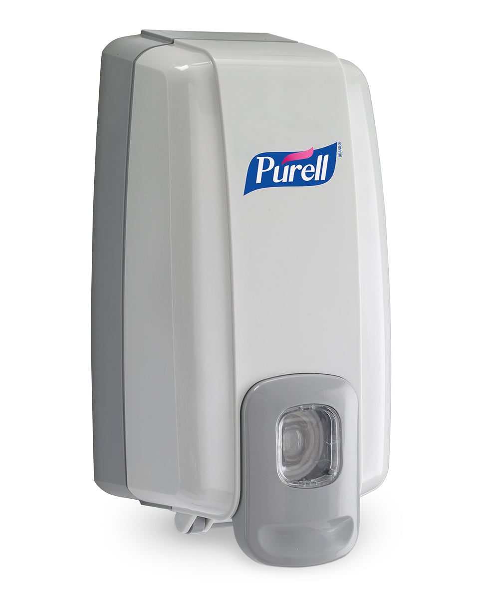 PURELL® NXT® SPACE SAVER™ Dispensers as shown in the UniFirst Facility Services Catalog