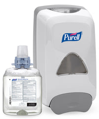 PURELL® Advanced Hand Sanitizer Foam (1200 mL)  with PURELL® FMX-12™ Dispensers as shown in the UniFirst Facility Services Catalog.