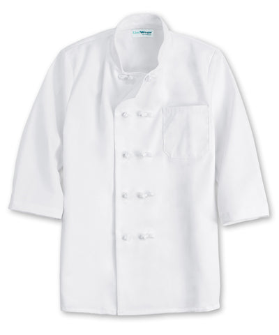 UniWear® 10-Knot 3/4 Sleeve Chef Coats