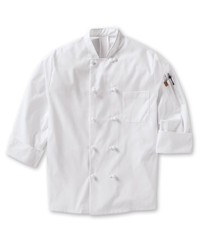 MIMIX™ OilBlok Long Sleeve 10-Knot Chef Coats