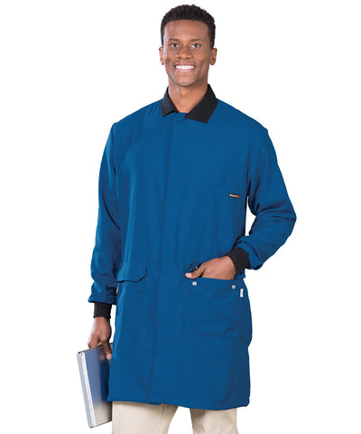 Flame Resistant Lab Coats with Chemical Splash Protection